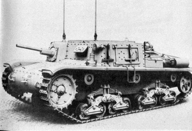 Carro Comando M14/41