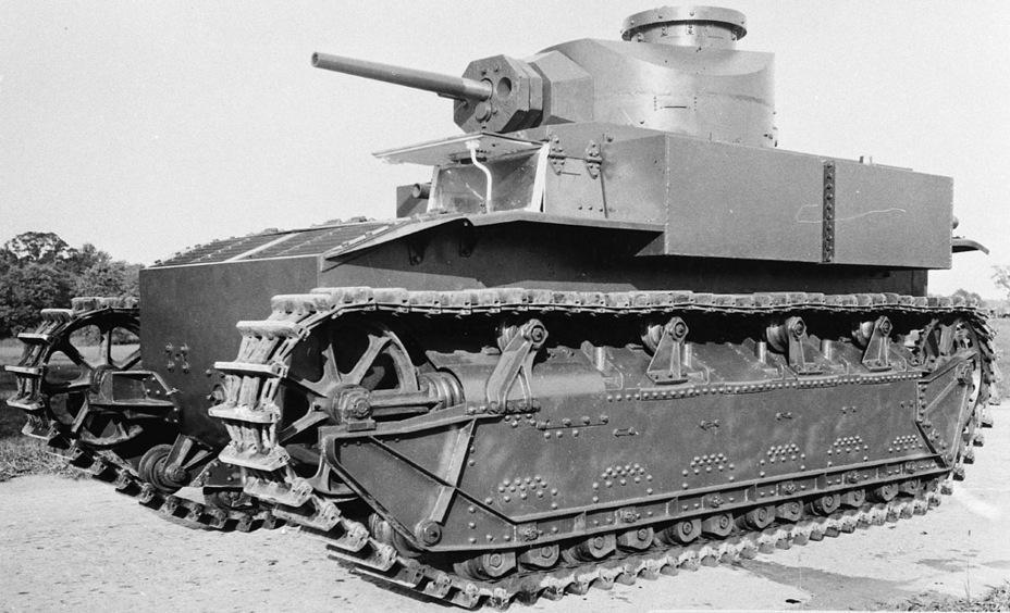 Medium Tank T2 Средний танк