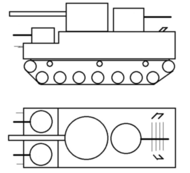 ТП-1 Тяжелый танк
