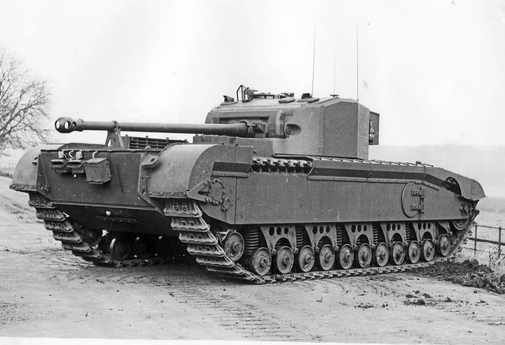 "Infantry Tank А43 ""Black Prince"""