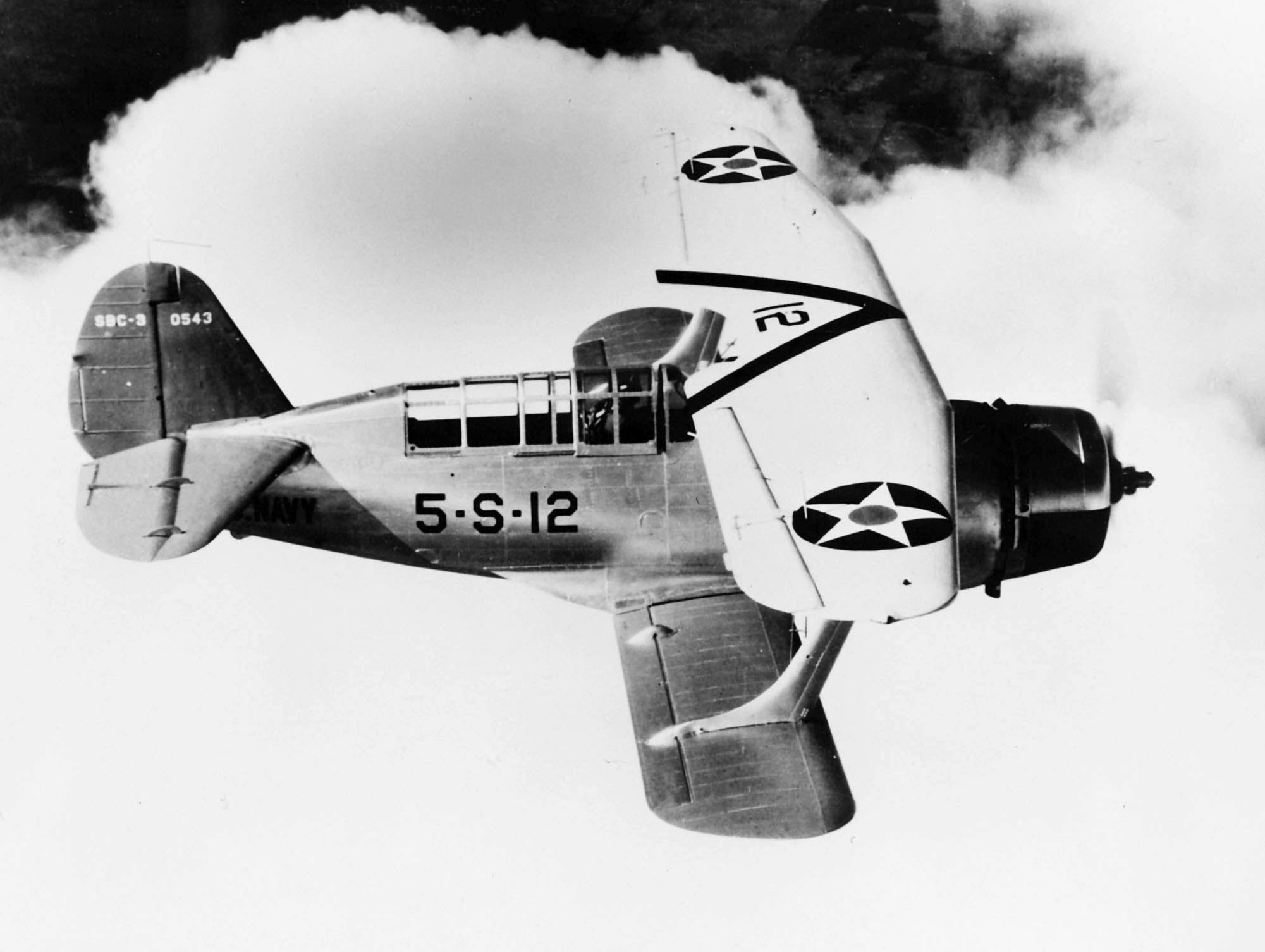 """Curtiss SBC-3 """"Helldiver"""