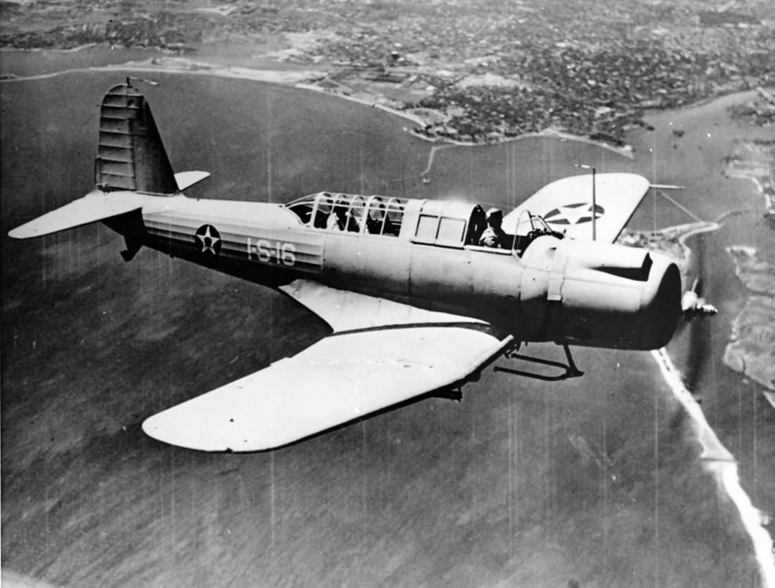 Vought SB2U-3 Vindicator