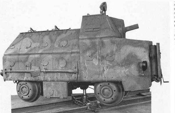 OM-36P (autocarrette ferroviarie blindate)