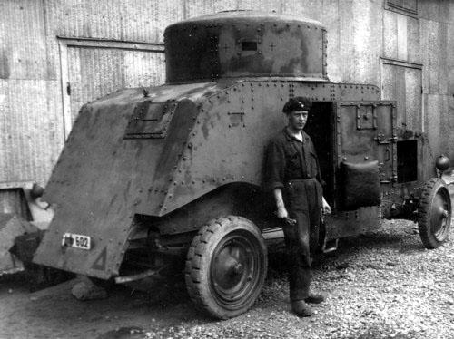 Pansarbil fm\31 Армейский бронеавтомобиль