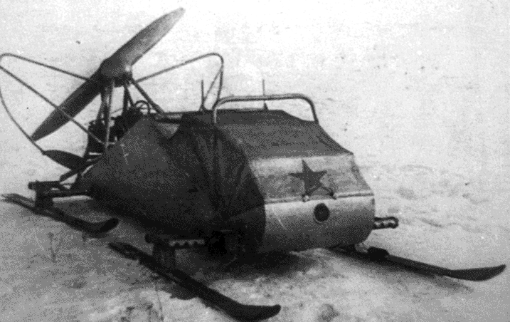 РФ-7 Лёгкие связные аэросани
