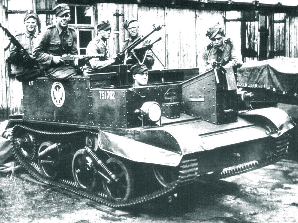 Universal Carrier Легкий гусеничный бронетранспортер