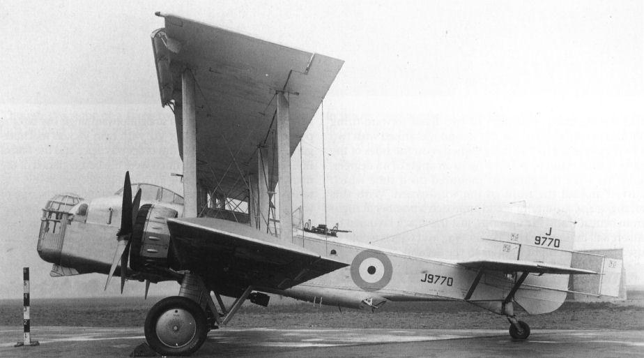 """Boulton-Paul """"Overstrand"""" Mk.I"""