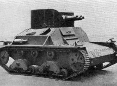 A5E1 Легкий танк