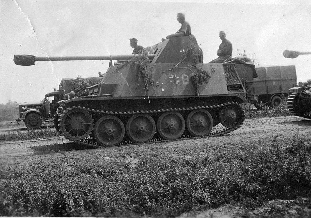 """""""Marder II"""" Противотанковая самоходная установка"""