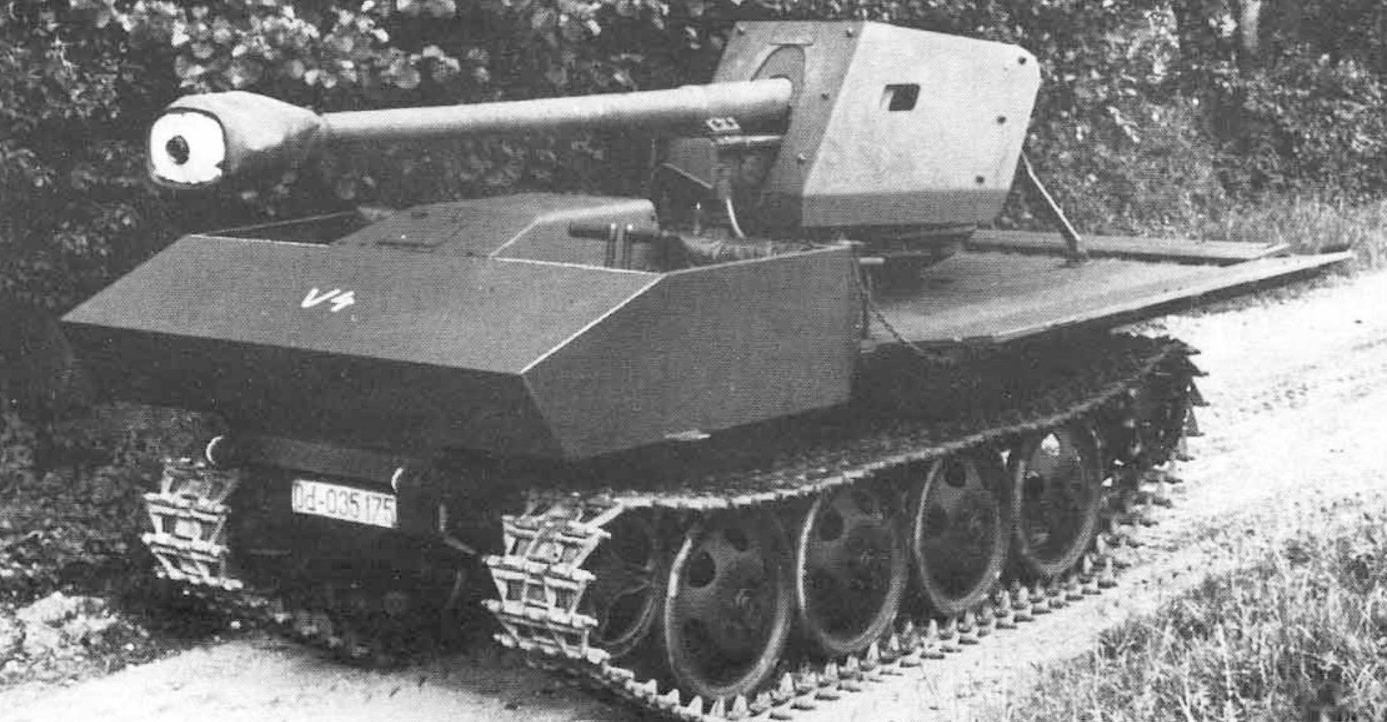 "7.5cm PaK 40/4 Raupenschlepper ""Ost"" (Sf) Тяжелый танк"