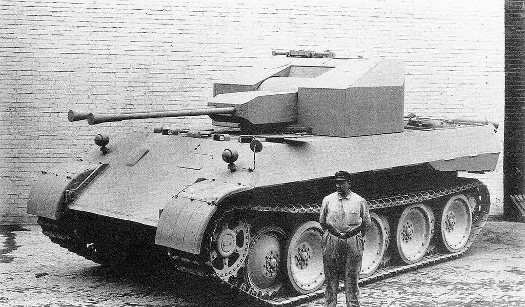 "Flakpanzer 341 \ ""Coelian"" Самоходная зенитная установка"