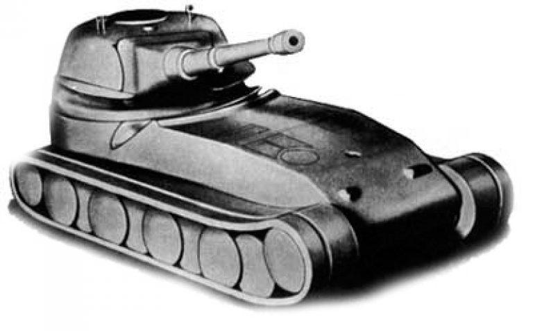 "Pz.Kpfw. VII ""Löwe"" \ VK 7201 Сверхтяжелый танк"