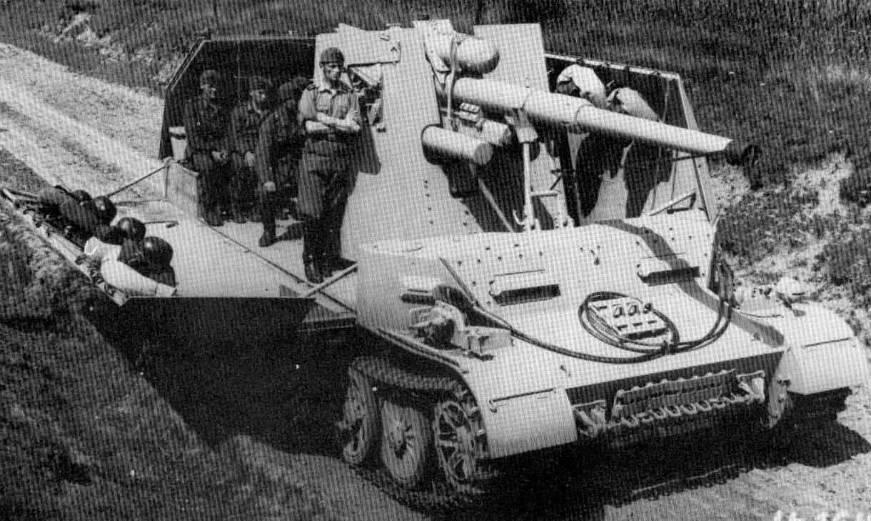 8.8cm FlaK auf Pz.Kpfw.IV Ausf.H Зенитная самоходная установка
