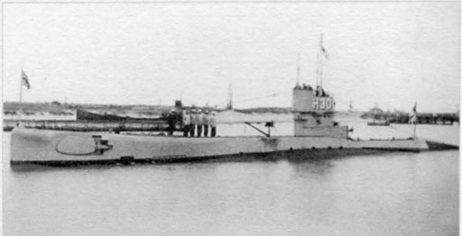 Постройка Британских субмарин типа H