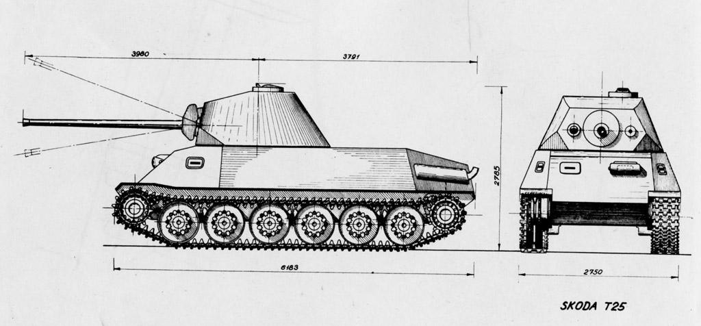 Škoda T-24 \ T-25 Средние танки