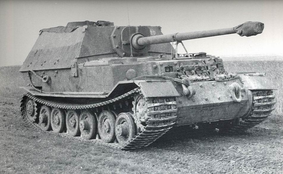 """Porsche """"Elefant"""" \ """"Ferdinand"""" Тяжелая самоходная противотанковая установка"""