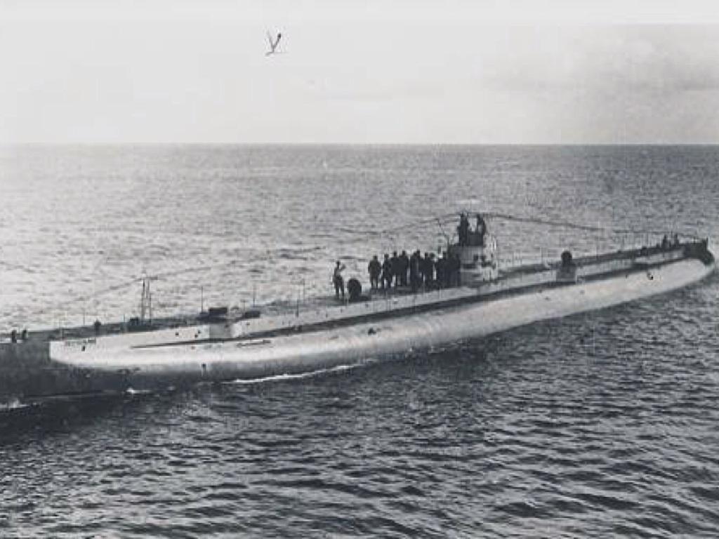 немецкая подводная лодка U-64