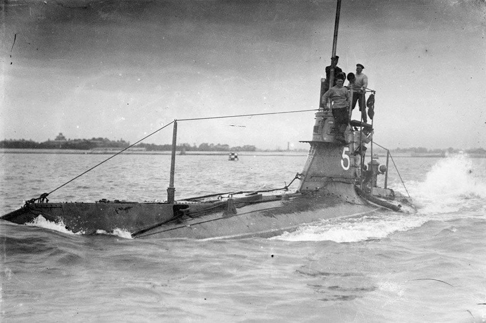 подводные лодки первой мировой войны 1914-1918
