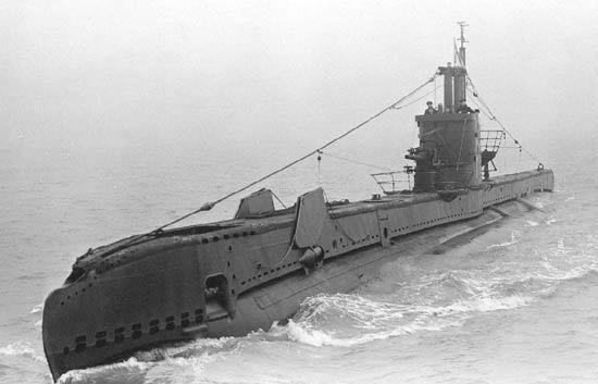 английская субмарина S-1