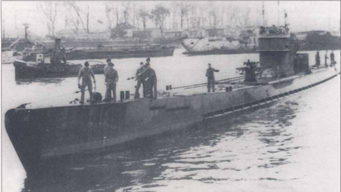 Бездарная гибель немецкой подлодки U-158