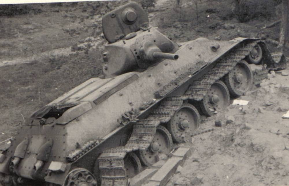 Осажденный танк