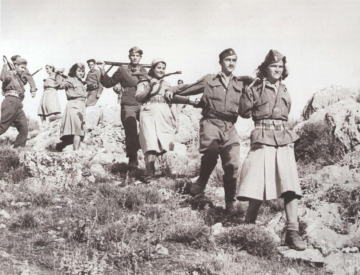 Отношения к партизанам во Второй Мировой Войне