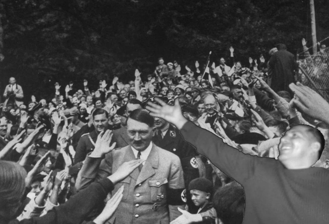 Как немцы организовывали «стихийные» выступления толпы