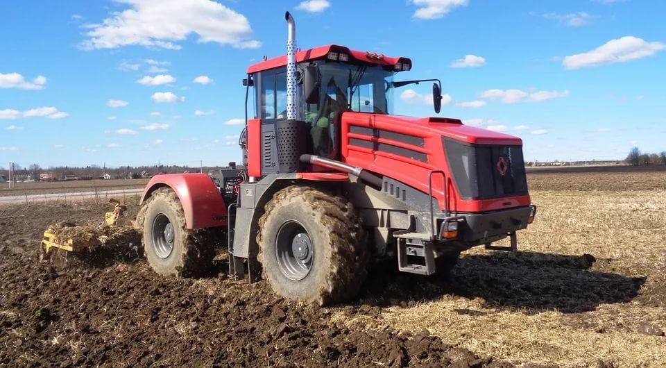 Серийное производство еще не принятого трактора