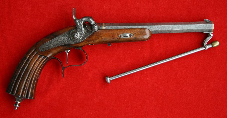 Развитие капсюльного (пистонного) оружия