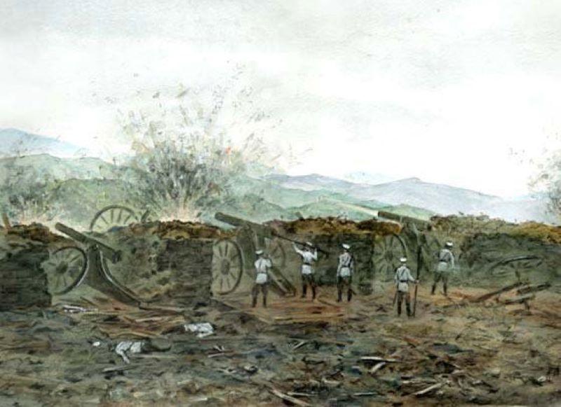 Подготовка к бою у Цзиньжоу