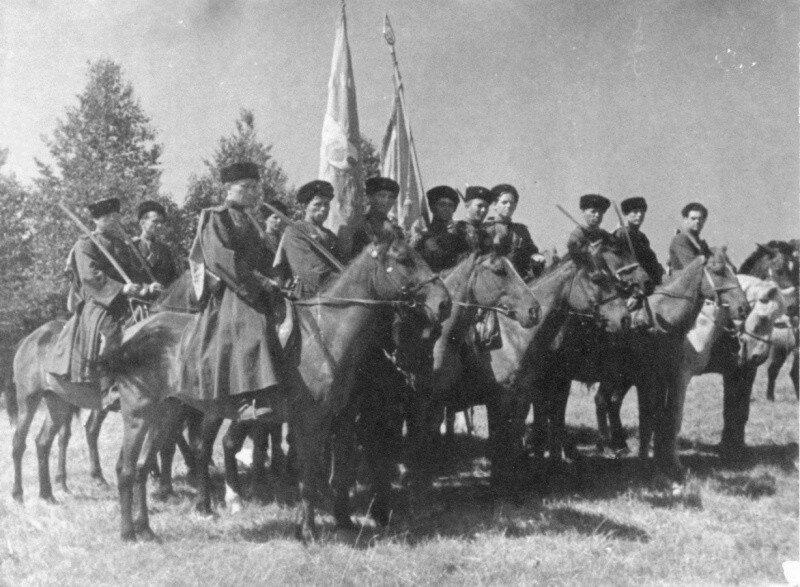 Как казаки выходили из Советского окружения
