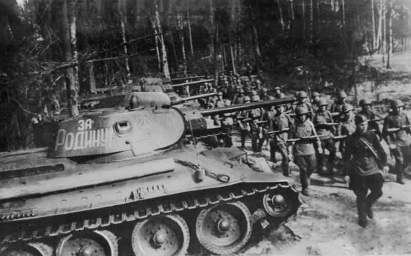 железные колонны танковых армий