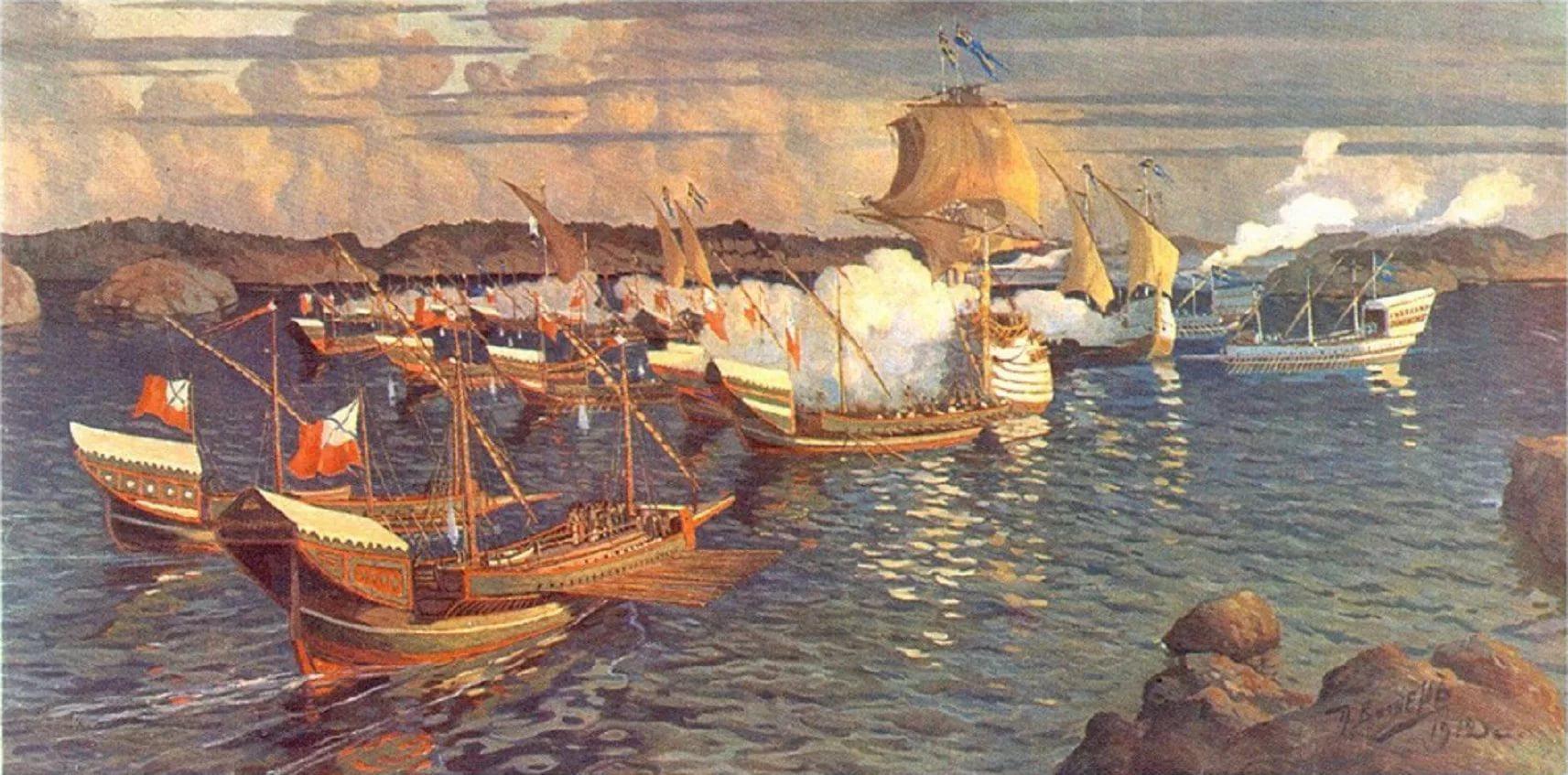 флот 1713 г
