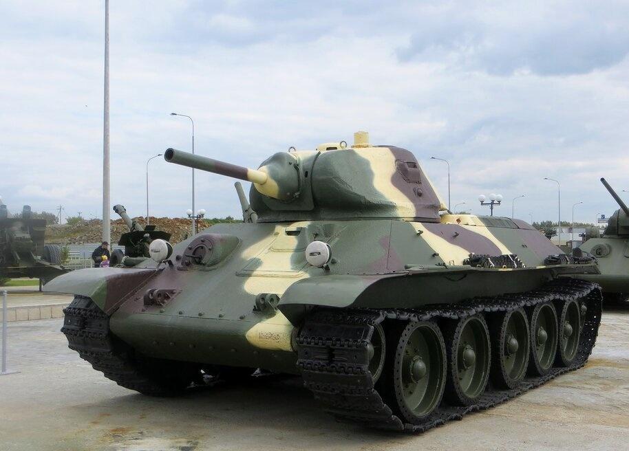 Боевая слава танка Т-34
