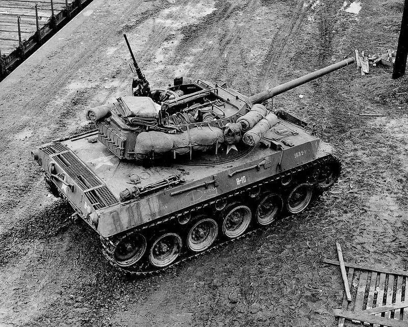 Американская САУ M18 Hellcat