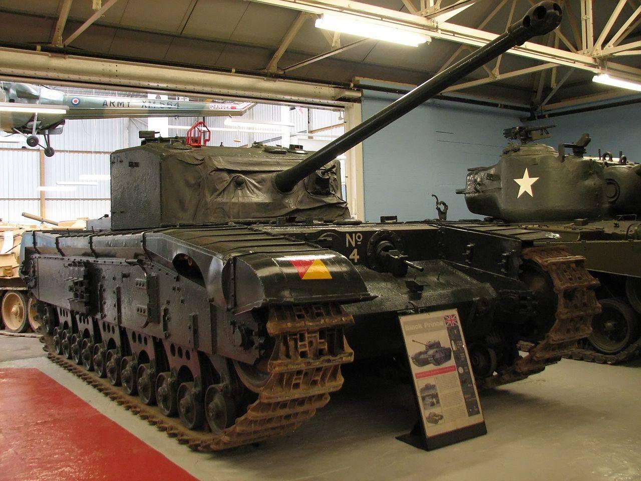 Британский пехотный танк A43 Black Prince
