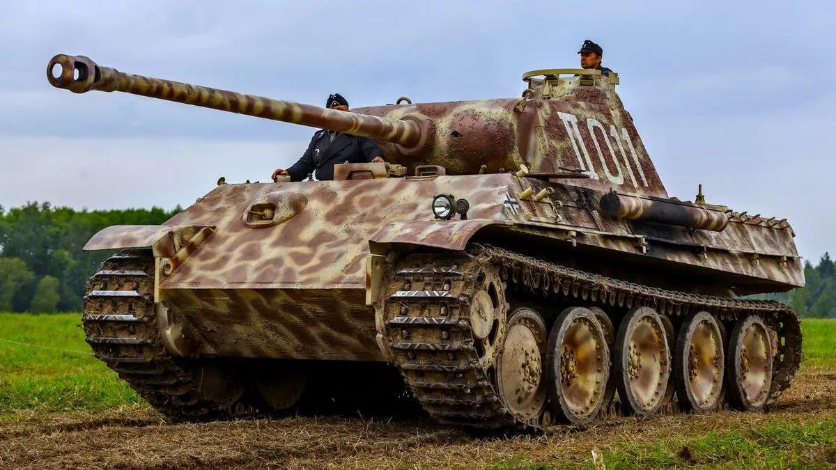 Немецкий средний танк «Пантера»