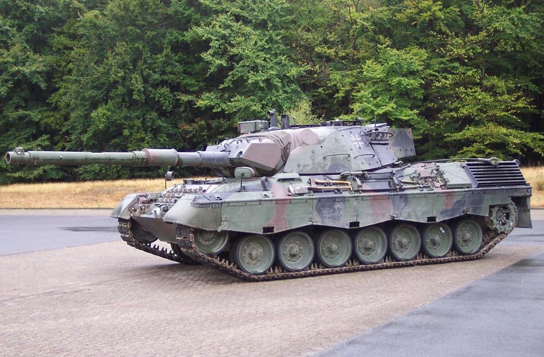 Немецкий основной боевой танк Leopard I