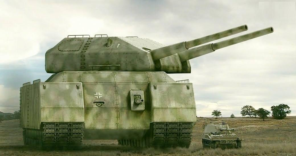 Немецкий сверхтяжелый танк «Крыса» (Ratte)